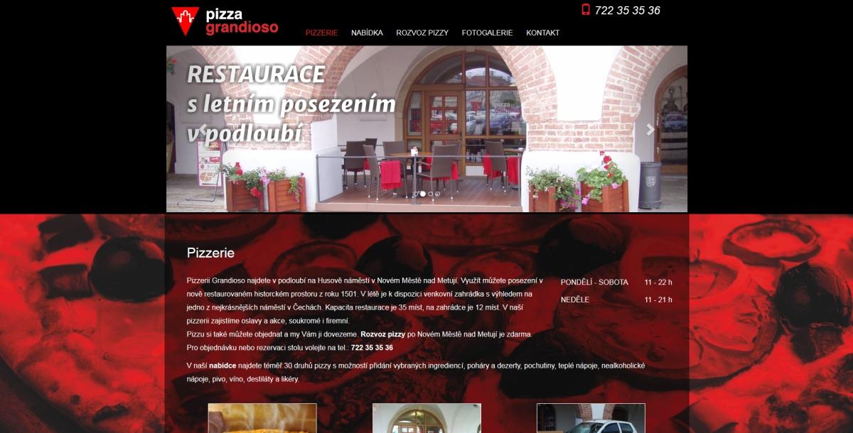 webové stránky - grandioso 1
