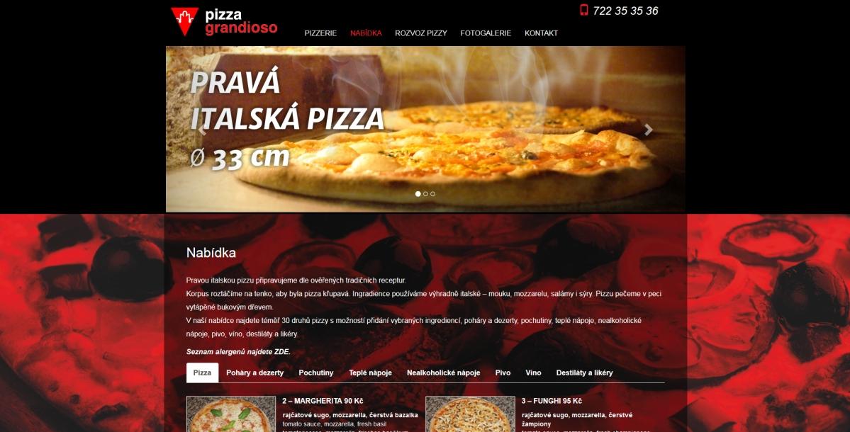 webové stránky - grandioso 2